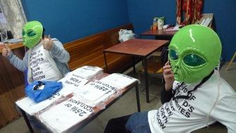 Alien Volunteers