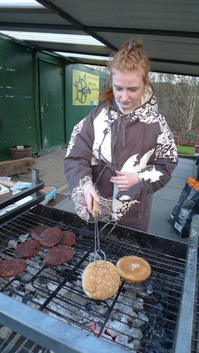 Space Suit burger maker, lamb hill BBQ