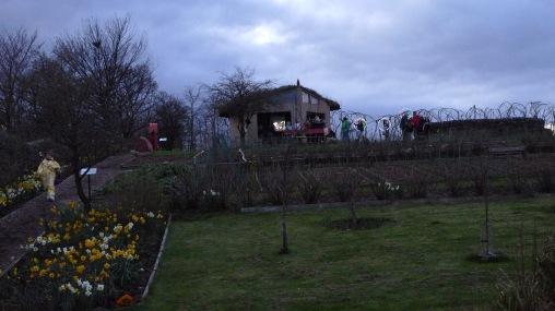 Last light at Lambhill